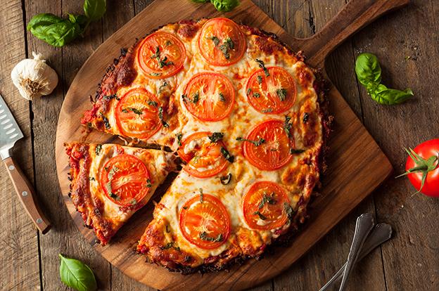 תמונה של פיצה טעימה